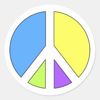 平和 ラウンドシール