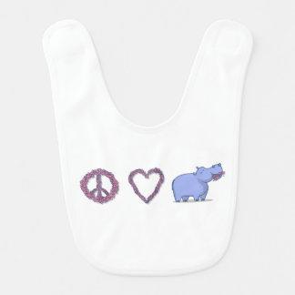 平和、愛及びHipponess ベビービブ