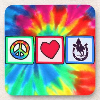 平和、愛、ロデオ コースター