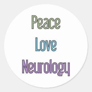 平和、愛、神経学 ラウンドシール