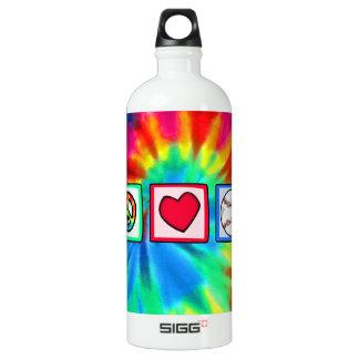 平和、愛、野球 ウォーターボトル