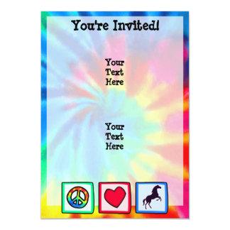 平和、愛、馬 カード