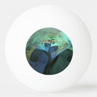 """""""平和""""抽象的でオーガニックなフラクタル 卓球ボール"""