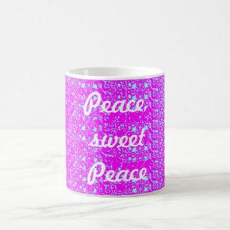 平和、甘い平和 コーヒーマグカップ