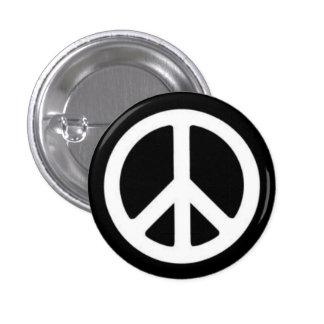 平和BnW 3.2cm 丸型バッジ
