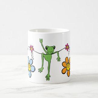 平和Froggyのマグ コーヒーマグカップ