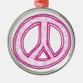 平和henna メタルオーナメント