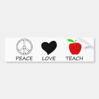 平和love2 バンパーステッカー