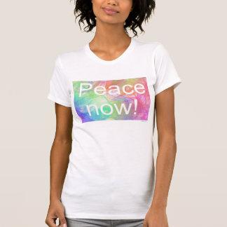 平和now2! 服装の罰金のジャージーのアメリカのTシャツ Tシャツ