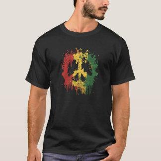 平和rastafara tシャツ