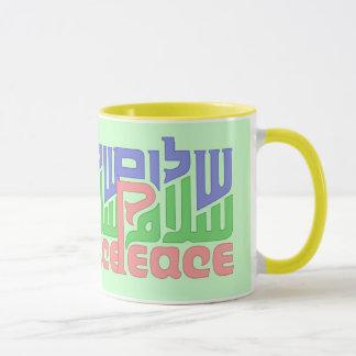 平和Shalomサラームのマグ マグカップ