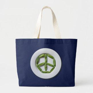 平和Snowpeasのジャンボトートバック ラージトートバッグ