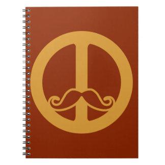 平和Stacheのカスタム ノートブック