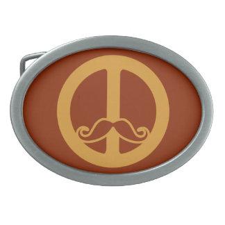 平和Stacheのベルトの留め金 卵形バックル