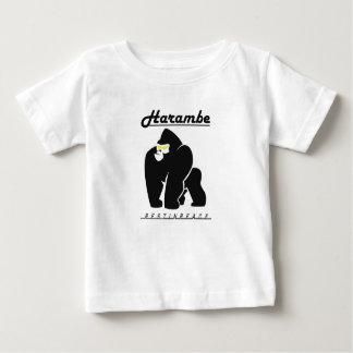平和TシャツのHARAMBEの残り ベビーTシャツ