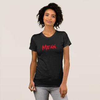平均および誇りを持った Tシャツ