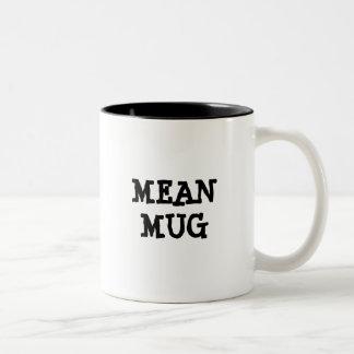 平均のマグ ツートーンマグカップ