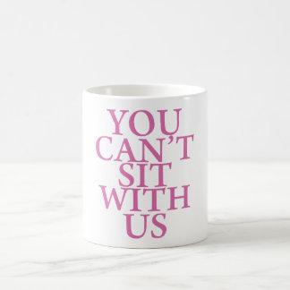 """平均の女の子""""米国""""の引用文のとマグ坐ることができません コーヒーマグカップ"""