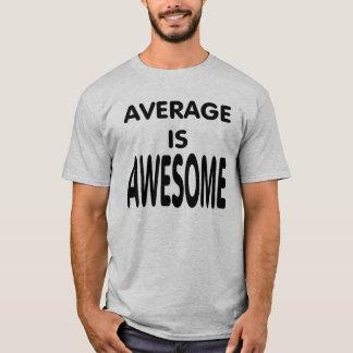 平均は驚くばかりです Tシャツ