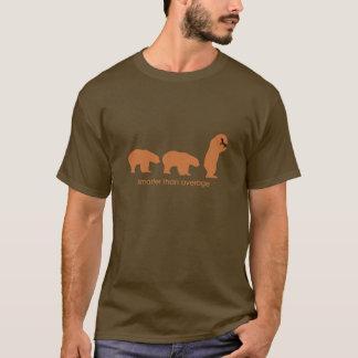 平均より頭が切れる Tシャツ