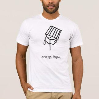 平均夜 Tシャツ