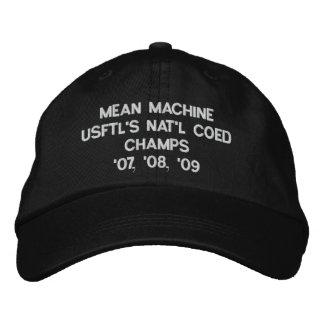 平均機械USFTL国民の男女共学CHAMPS'07、「08、… 刺繍入りキャップ