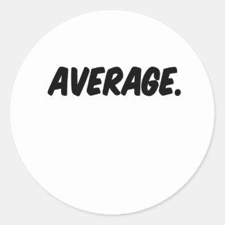 平均 ラウンドシール