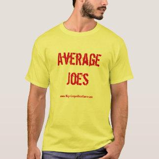 平均Joesのチームワイシャツ Tシャツ