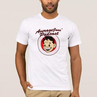 平均Joesのポッドキャストのワイシャツ Tシャツ
