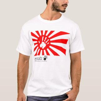 平手打ちの日本のな赤 Tシャツ