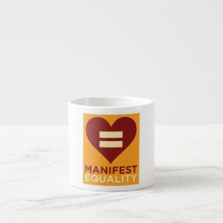 平等のエスプレッソのマグ エスプレッソカップ
