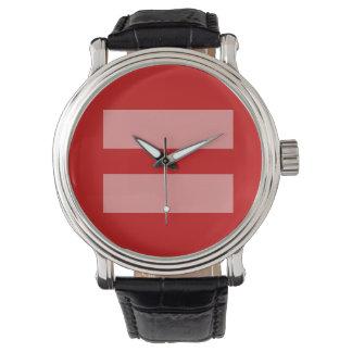 平等のタイムマシン 腕時計