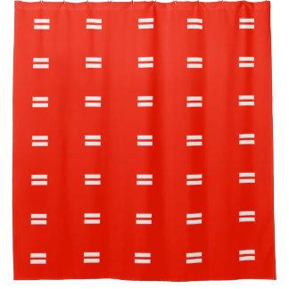 平等の旗 シャワーカーテン