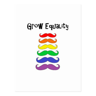 平等を育てて下さい ポストカード
