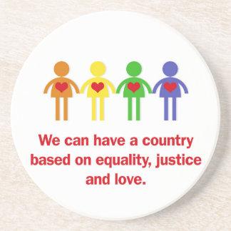 平等、正義および愛に基づく国 コースター