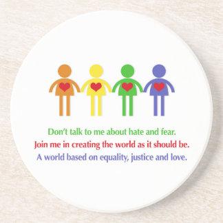 平等、正義および愛の世界 コースター
