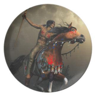 平野の戦士 プレート