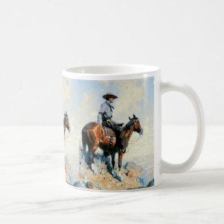 平野の歩哨 コーヒーマグカップ