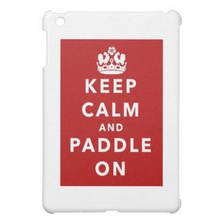平静およびかいを保って下さい iPad MINIケース