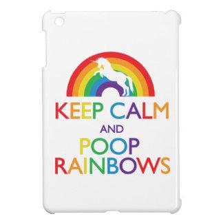 平静およびウンチの虹のiPadを保って下さい iPad Miniケース