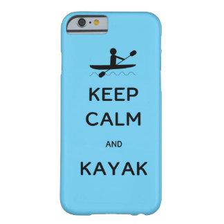 平静およびカヤックを保って下さい BARELY THERE iPhone 6 ケース