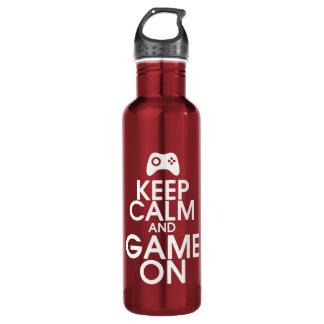 平静およびゲームを保って下さい ウォーターボトル
