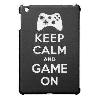 平静およびゲームを保って下さい iPad MINIカバー