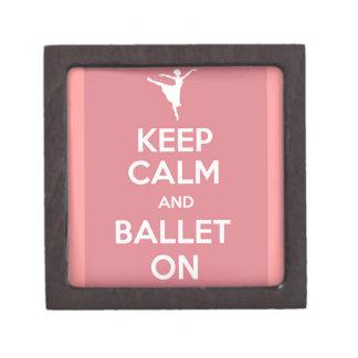 平静およびバレエを保って下さい ギフトボックス