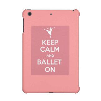 平静およびバレエを保って下さい iPad MINI RETINAケース