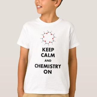 平静および化学を保って下さい Tシャツ