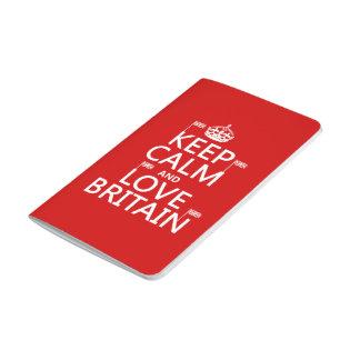 平静および愛イギリスを保って下さい ポケットジャーナル