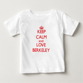 平静および愛バークレーを保って下さい ベビーTシャツ