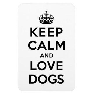 平静および愛犬を飼って下さい マグネット