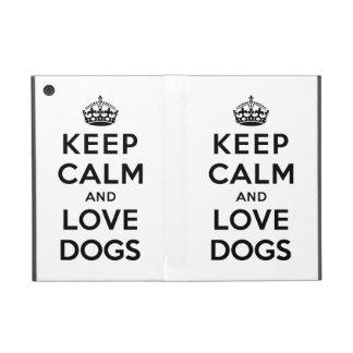 平静および愛犬を飼って下さい iPad MINI ケース